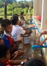 Hand washing before breakfast
