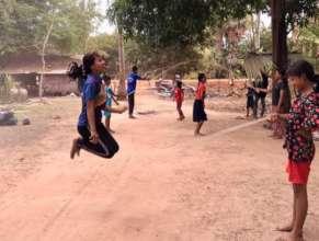Improving stamina, balance and coordination!