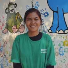 Un Sokhim, one of our new Sports Coaches