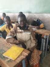Rachidatou, 5th grader student