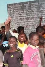 Children Cheering With Light