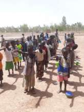 First Grader Students, Djomga near Dori