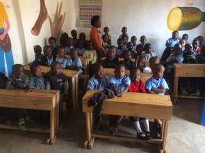 Kuraneza pre-primary school students