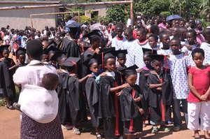 Graduation from Kuraneza nursery school