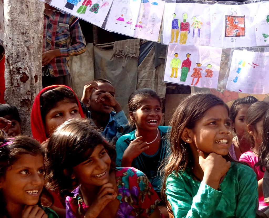 Transform childhoods of 300 slum children in India