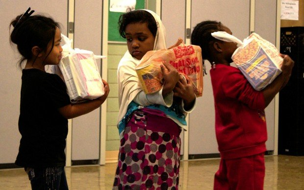 Help feed hungry kids in Denver, Colorado