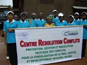 CRC staff in Beni