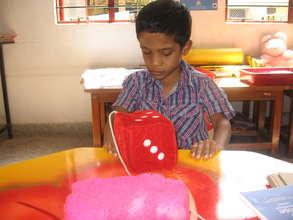Tejas in Classroom