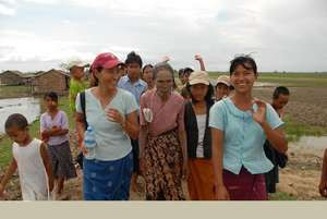 Aid for Myanmar cyclone victims