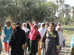 Women group formed under AWARD Pakistan in Punjab