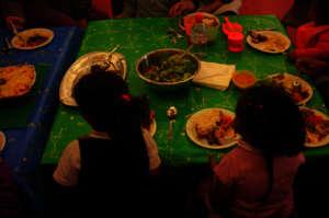 Kids we fed