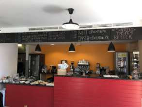Our lovely new cafe space