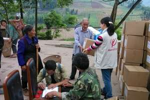 Earthquake survivors grateful for relief supplies