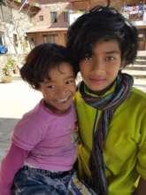 Sabitra with her big sister Bina