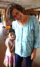 Anjana with Bonnie Auntie