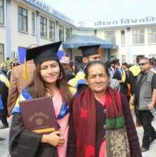 Laxmi at Graduation