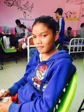 In hospital after the landslide