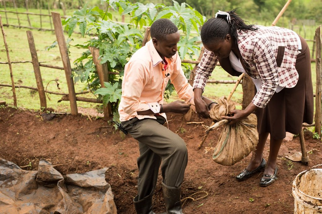 Empower 175 students for food security in Kenya