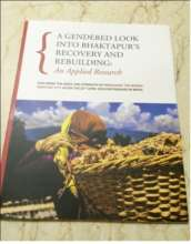 Applied Research, A Gendered Look into Bhaktapur's