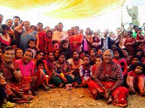 Community Women in Saping, Kavre