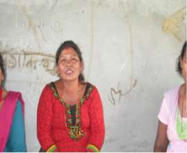 Pabitra, an entrepreneur from Ramechaap