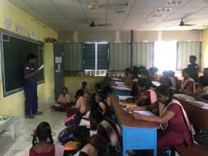 Students leading daily lessons