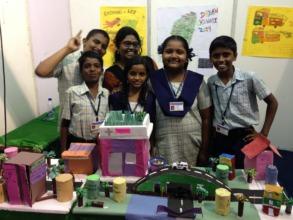 Students presenting at Dream Madras Week