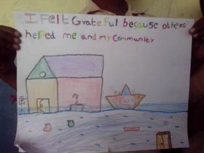 Students express their feelings through arts...