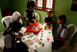 Activity Centre created in a TFI School
