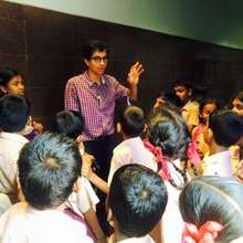 Chennai Fellow takes students on a field trip