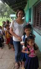 AAI's Nurse Faith with Catig-Lacadon students