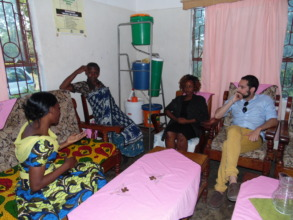 Catherine giving testimony of being TYPHOID FREE