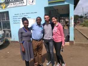 Lovely French Couple Tourists with Hilonga & Ruth