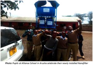 Alliance School students - Arusha -with Nanofilter