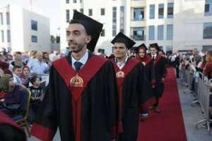 Musab graduates from Palestine Ahliya College