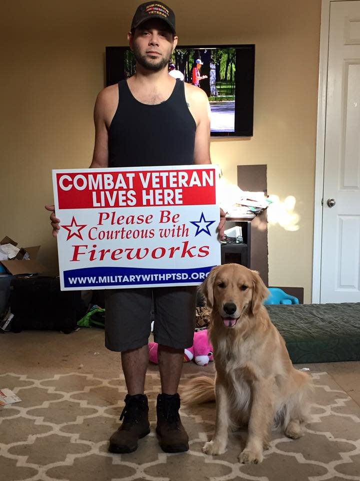 Help Veterans Who Struggle with Fireworks