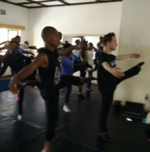 Dance class with Chase Johnsey