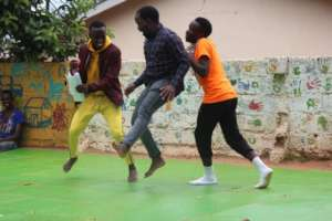 Program Manager, Roger, Dancing with Teen Students