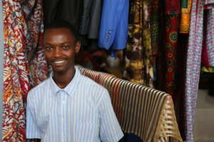 Rene, a top student who is now at tailoring school