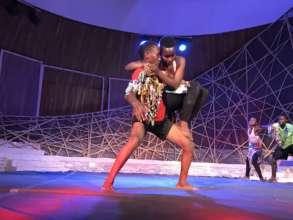MindLeaps students perform at Ubumuntu