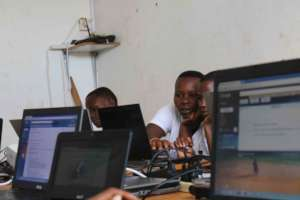 IT Class for At-Risk Girls in Rwanda