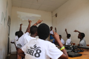 IT Class with Our Teenage Girls in Kigali