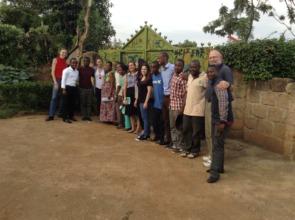 MindLeaps' Board Members visiting the program