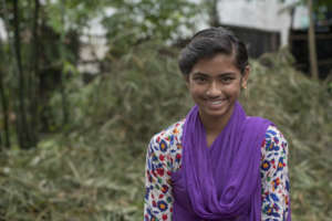 Rupa is safe in school thanks to you!