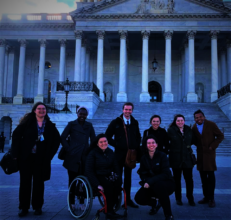 2019 Spring Fellows at US Capitol Building