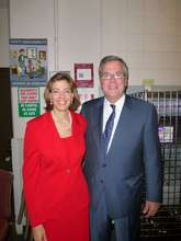 Our President with Jeb Bush