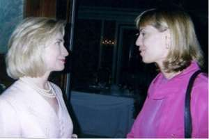 Our President with Hillary Clinton