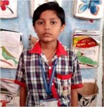 Pritam at the School