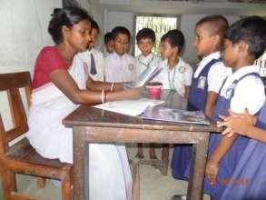 Chhildren in the class