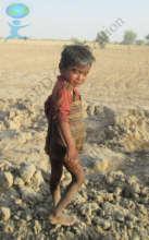 Deprived child of Cholistan (Desert)